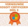 nieuwe certificeringen microsoft azure