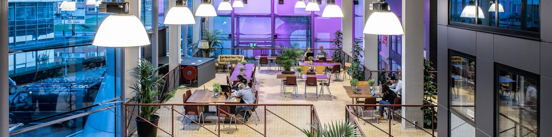 Linden-IT kantoor bij B2 amsterdam